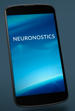 mobile phone with Neuronostics' app